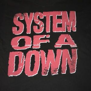 System Of A Down old school band tee